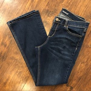 New York and Company Bootcut Jeans B7
